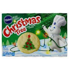 pillsbury ready to bake christmas tree shape sugar cookie u2011 shop