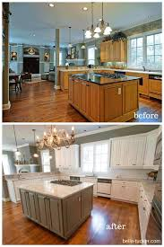 soapstone countertops kitchen cabinets painted white before and