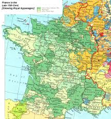 Map Of France And Spain by Internet History Sourcebooks