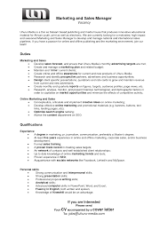 Resume Sales Manager  enterprise sales manager job description     happytom co