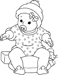 baby coloring pages olegandreev me
