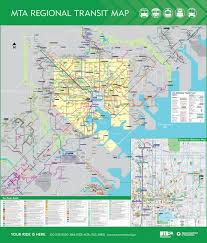 Los Angeles Light Rail Map by Official Map Maryland Transit Administration Transit Maps