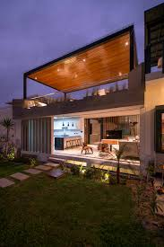 Modern Concrete Home Plans And Designs Modern Concrete Beach House Design With Rooftop Terrace Home