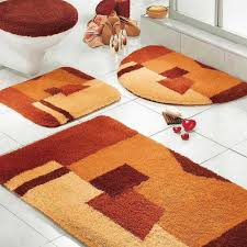 Multi Colored Bathroom Rugs Designer Bathroom Rugs And Mats Home Design