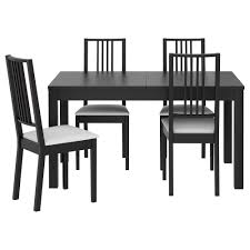 Small Black Dining Table And  Chairs Ciov - Black dining table for 4