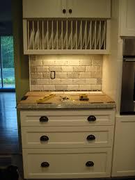 Kitchen Design Backsplash Subway Tile Backsplash Kitchen Contrasting Tile Backsplash