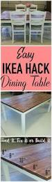 Ikea Dining Table Hacks 104 Best Awesome Ikea Hacks And Projects Images On Pinterest
