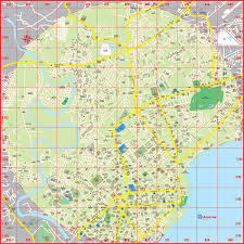 Metro Manila Map by Customized Tourism U0026 Vicinity Maps Accu Map Inc Maps That Work