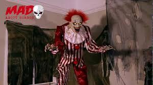 killer clown costume spirit halloween halloween animated 2017 7 ft evil clown official svi video