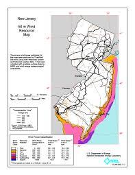 Map Nj Windexchange Wind Energy In New Jersey