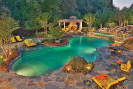 Outdoor Living Furniture by Rustic Pool House Ideas With Wonderful Outdoor Living Furniture