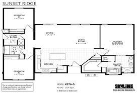 mountain view california manufactured homes and modular homes for sunset ridge k576g layout