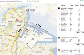 T Boston Map by Boston U0027s Housing Shortfall As Seen From The Seaport Curbed Boston