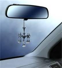 amazon com decorative mini chandelier w crystals rear view