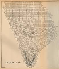 New York Map Us by