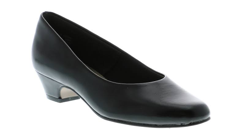 Soft Style angel 11 Leather Closed Toe Classic, Black Elegance,
