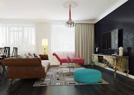 Modern Home Designs Interior by Modern Pop Art Style Apartment
