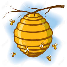 6 082 bee hive stock illustrations cliparts and royalty free bee