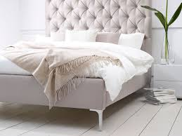 bed frames tufted upholstered bed king headboard and bench set