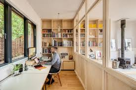 Open Home Office How To Maintain Privacy In Your Open Concept Home