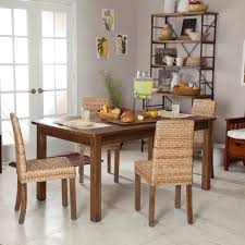 Bamboo Dining Room Furniture by New Rustic Dining Room Tables Ideas Amaza Design