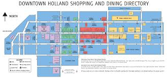 Detroit Michigan Map by Maps U0026 Transportation Downtown Holland Michigan