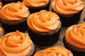 german chocolate pumpkin cupcakes created by diane