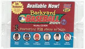 Original Backyard Baseball by Backyard Baseball 2001