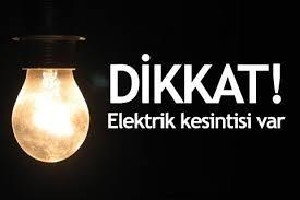 13Ekimde İstanbul'da bir çok ilçede Elektirik kesintisi