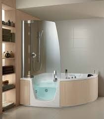 Bathroom Shower Remodel Ideas by Image Of Walk In Bathtub Shower Combo Fancy Plush Design Showers