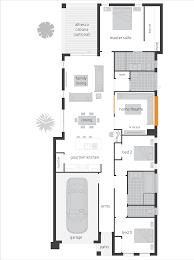 Cabana House Plans by Floor Plans For Narrow Blocks Ahscgs Com