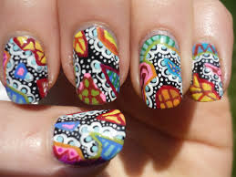 paisley nail art tutorial youtube