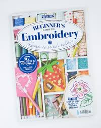 wild olive in print beginner u0027s guide to embroidery bookazine