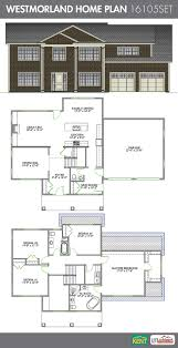 Two Car Garage Size by Westmorland 4 Bedroom 2 1 2 Bathroom Home Plan Features Open