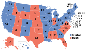Clinton Home State by United States Presidential Election 1992 Wikipedia