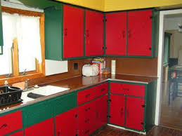 Red Kitchen Cabinet Amazing Twotone Kitchen Cabinets To Reinspire - Good color for kitchen cabinets