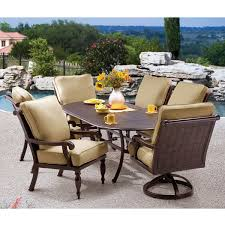 Costco In Store Patio Furniture - saratoga 11 piece sling patio dining collection
