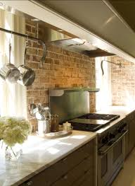 Rustic Kitchen Backsplash Kitchen Brick Backsplash Ideas Kitchen Tile Wit Brick Kitchen