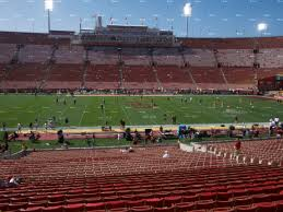 Neyland Stadium Map Los Angeles Memorial Coliseum Seat Views Seatgeek