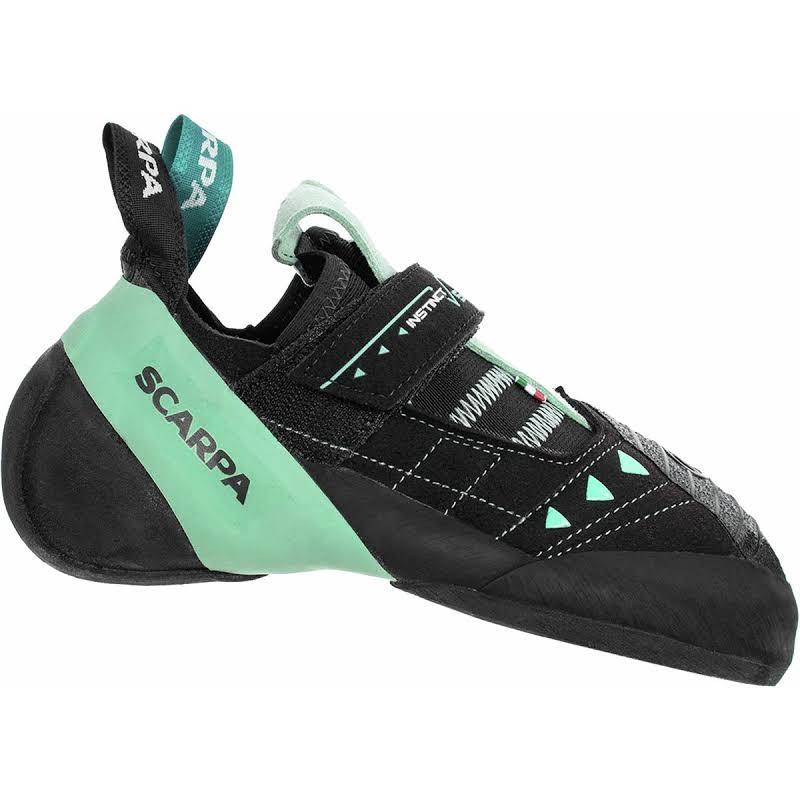Scarpa Instinct VS Climbing Shoes Black/Aqua Medium 40 70013/002-BlkAqua-40