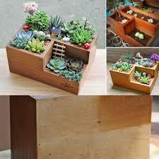 amazon com easydeal wooden garden window box trough planter