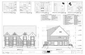 Multiple Family House Plans 100 Townhouse Blueprints Artistic City Houses No 43