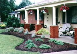 Rancher Style Homes Ideas For Front Of Ranch Style House Landscaping Helpfulgardener