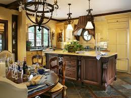 French Country Kitchen Cabinets by French Country Kitchen Blue And Yellow Video And Photos
