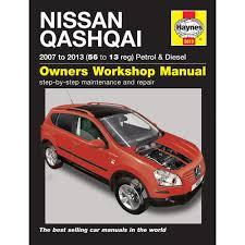 5610 nissan qashqai 2007 13 haynes manual 1 6 2 0 petrol 1 5 2 0