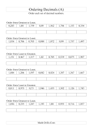 4th Grade Order Of Operations Worksheets Fascinating 5th Grade Math Practice Subtracing Decimals Decimal