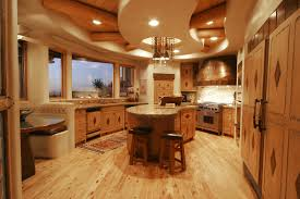 Creative Kitchen Ideas by Creative Kitchen Ceiling Ideas Finished In Modern Style Kitchentoday