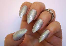 holographic stiletto nails grey nails coffin nails fake