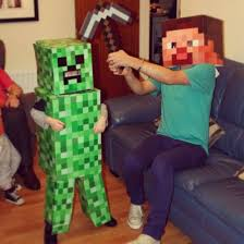 Halloween Minecraft Costume 16 Minecraft Creeper Halloween Costume Images