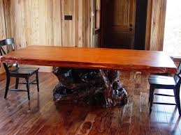 Wood Dining Room Rustic Trestle Dining Room Tables Small Rustic Dining Room